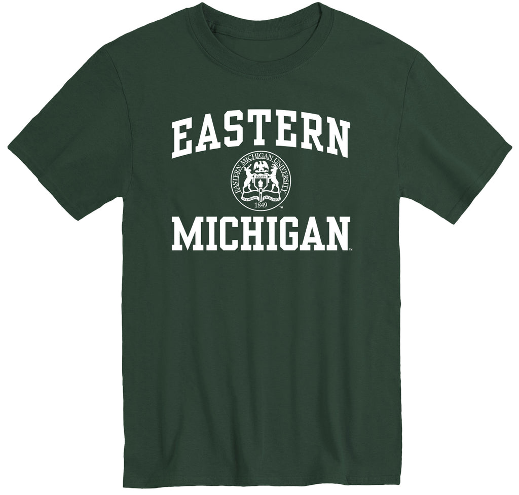 Eastern Michigan University Heritage T-Shirt (Hunter Green)