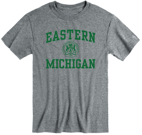 Eastern Michigan University Heritage T-Shirt (Charcoal Grey)