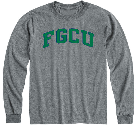 Florida Gulf Coast University Classic Long Sleeve T-Shirt (Charcoal Grey)