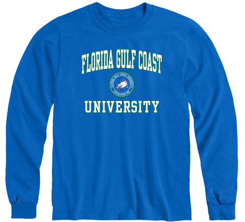 Florida Gulf Coast University Heritage Long Sleeve T-Shirt (Royal Blue)