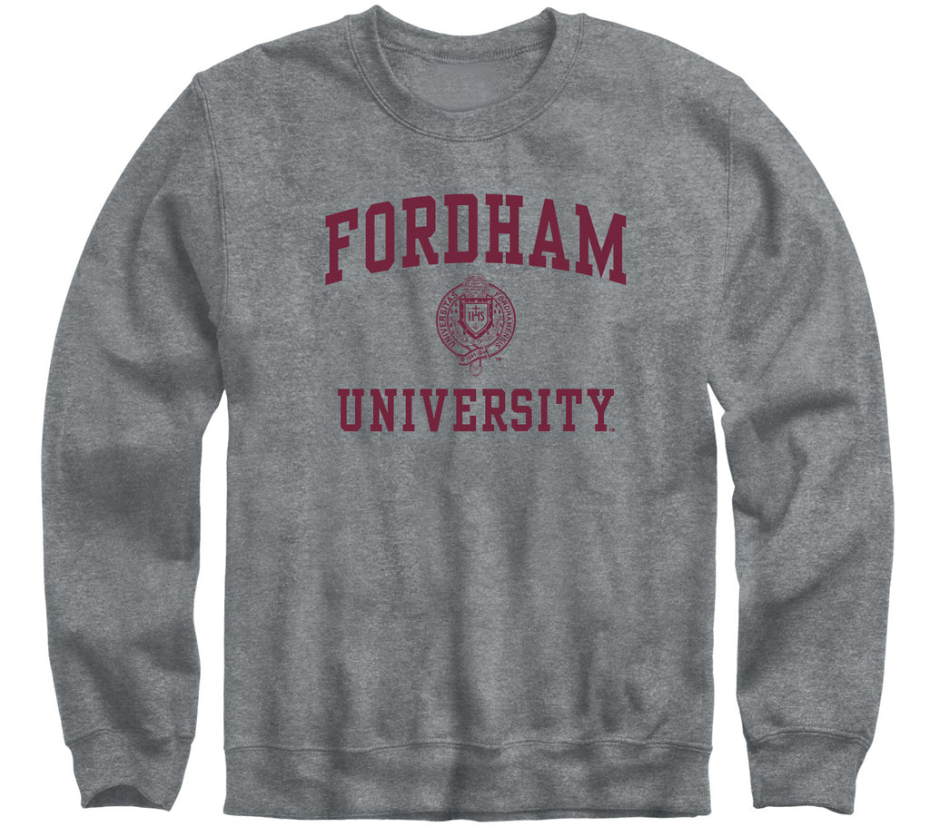 Fordham University Heritage Sweatshirt (Charcoal Grey)