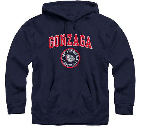 Gonzaga University Heritage Hooded Sweatshirt (Navy)