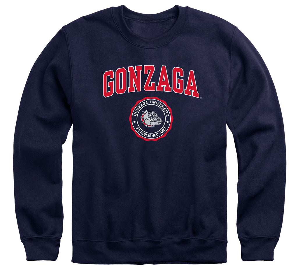 Gonzaga University Heritage Sweatshirt (Navy)