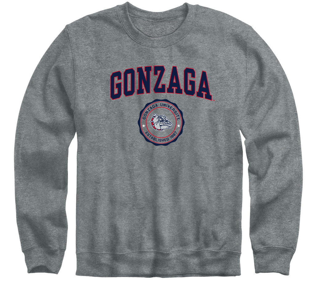 Gonzaga University Heritage Sweatshirt (Charcoal Grey)