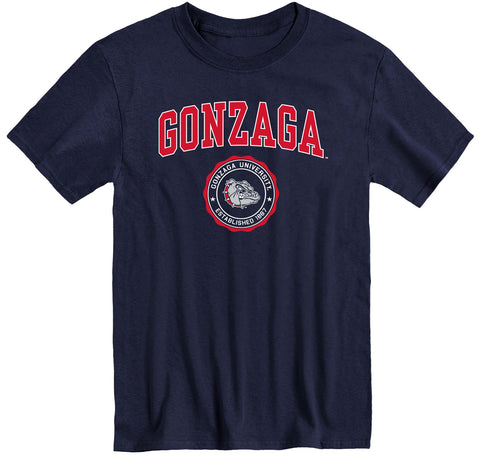 Gonzaga University Heritage T-Shirt (Navy)