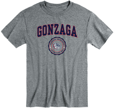 Gonzaga University Heritage T-Shirt (Charcoal Grey)