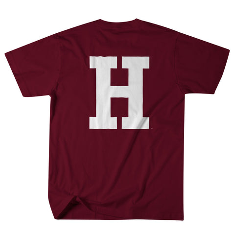 Harvard - Letter - T-Shirt (Crimson)