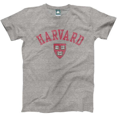 Harvard - Team Vintage T-shirt (Heather Grey)