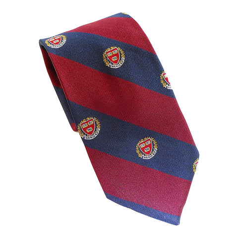 Harvard Seal Tie (Silk)