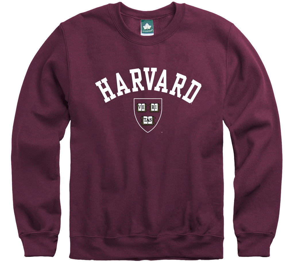 Harvard Athletics Logo Sweatshirt (Crimson)