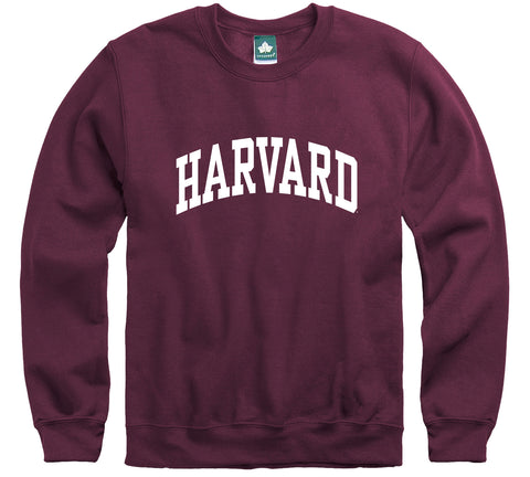 Harvard University Classic Crew Sweatshirt (Crimson)