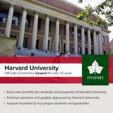 Harvard University Heritage Hooded Sweatshirt (Crimson)