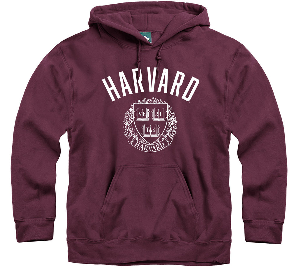 Harvard University Legacy Hooded Sweatshirt (Crimson)