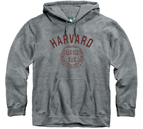 harvard university hooded sweatshirt