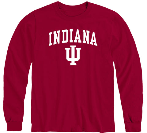 Indiana University Heritage Long Sleeve T-Shirt (Cardinal)
