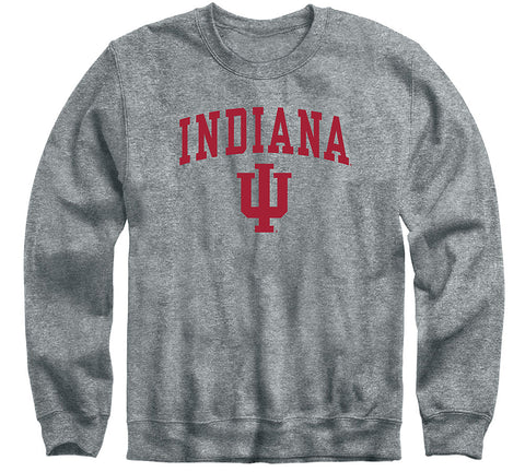 Indiana University Heritage Sweatshirt (Charcoal Grey)