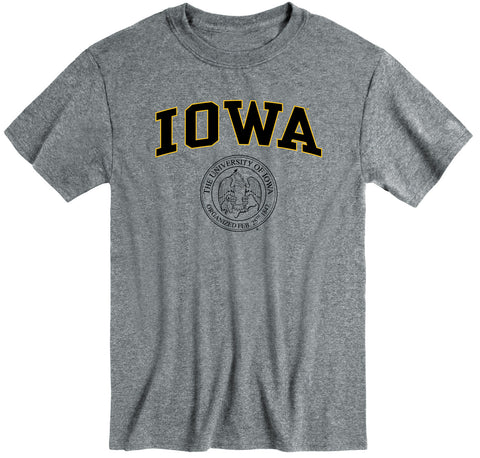 University of Iowa Heritage T-Shirt (Charcoal Grey)