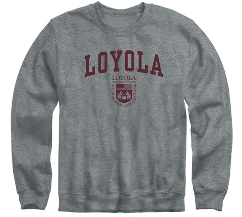 Loyola University Chicago Heritage Sweatshirt (Charcoal Grey)
