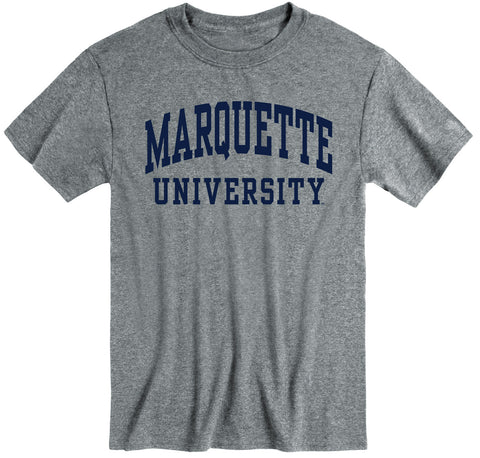 Marquette University Classic T-Shirt (Charcoal Grey)