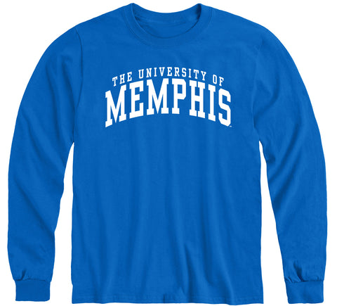 The University of Memphis Classic Long Sleeve T-Shirt (Royal Blue)