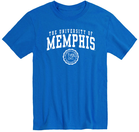 The University of Memphis Heritage T-Shirt (Royal Blue)