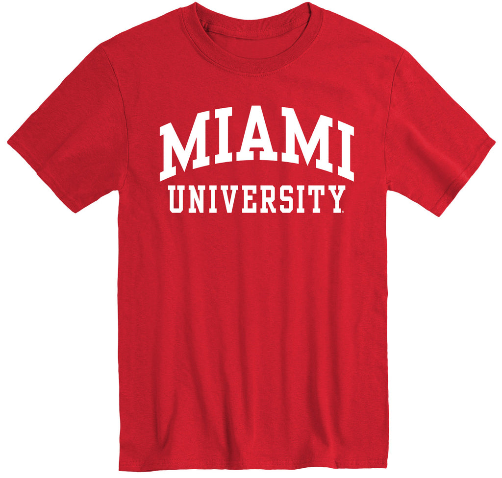 Miami University Classic T-Shirt (Red)