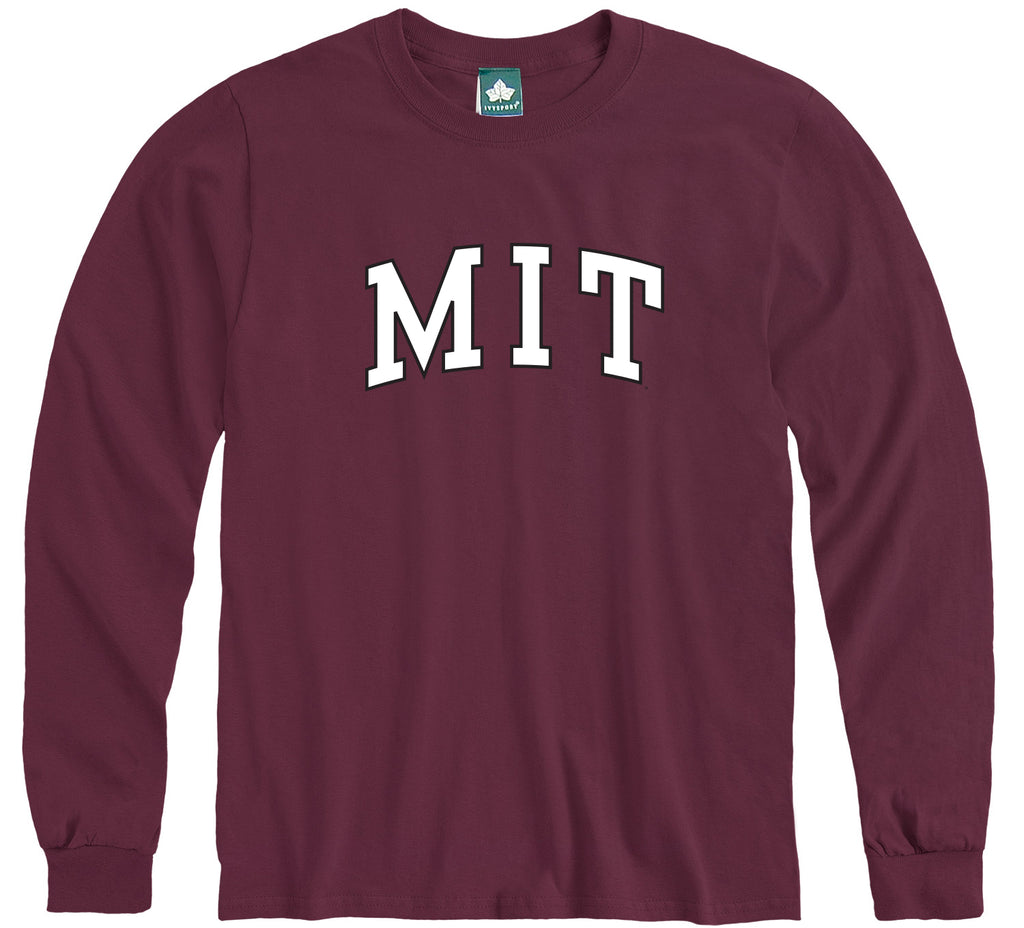 MIT Long Sleeve T-Shirt Classic (Maroon)