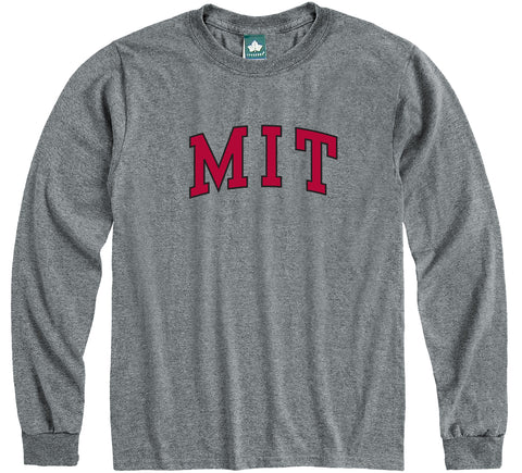 MIT Classic Long Sleeve T-Shirt (Charcoal Grey)