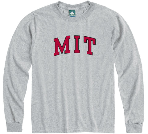 MIT Long Sleeve T-Shirt Classic (Grey)