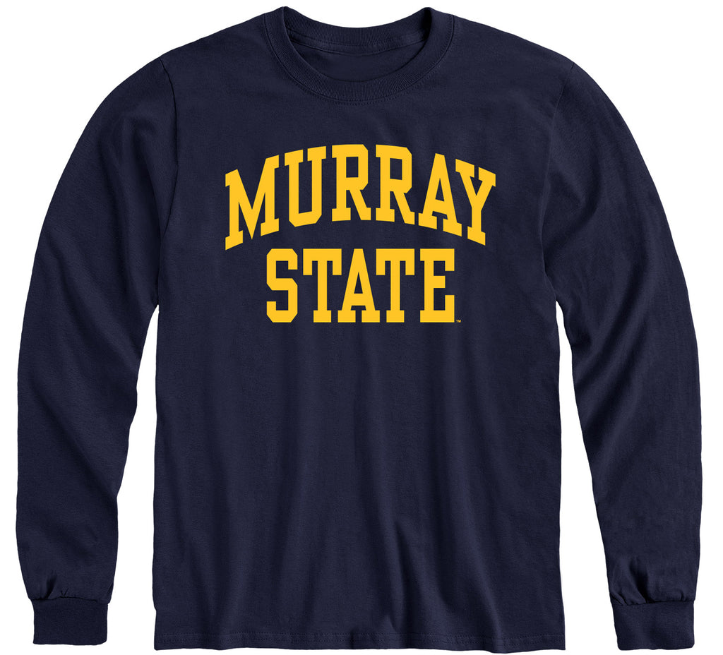 Murray State University Classic Long Sleeve T-Shirt (Navy)