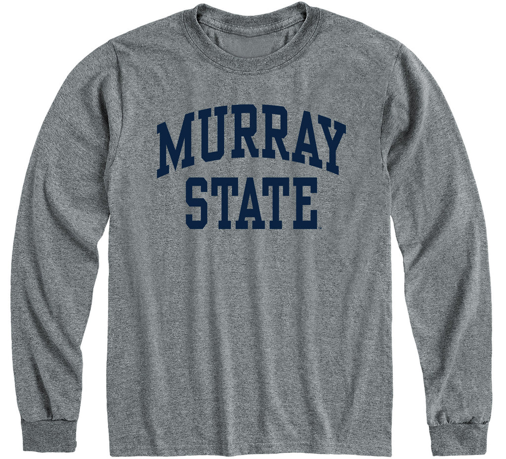 Murray State University Classic Long Sleeve T-Shirt (Charcoal Grey)