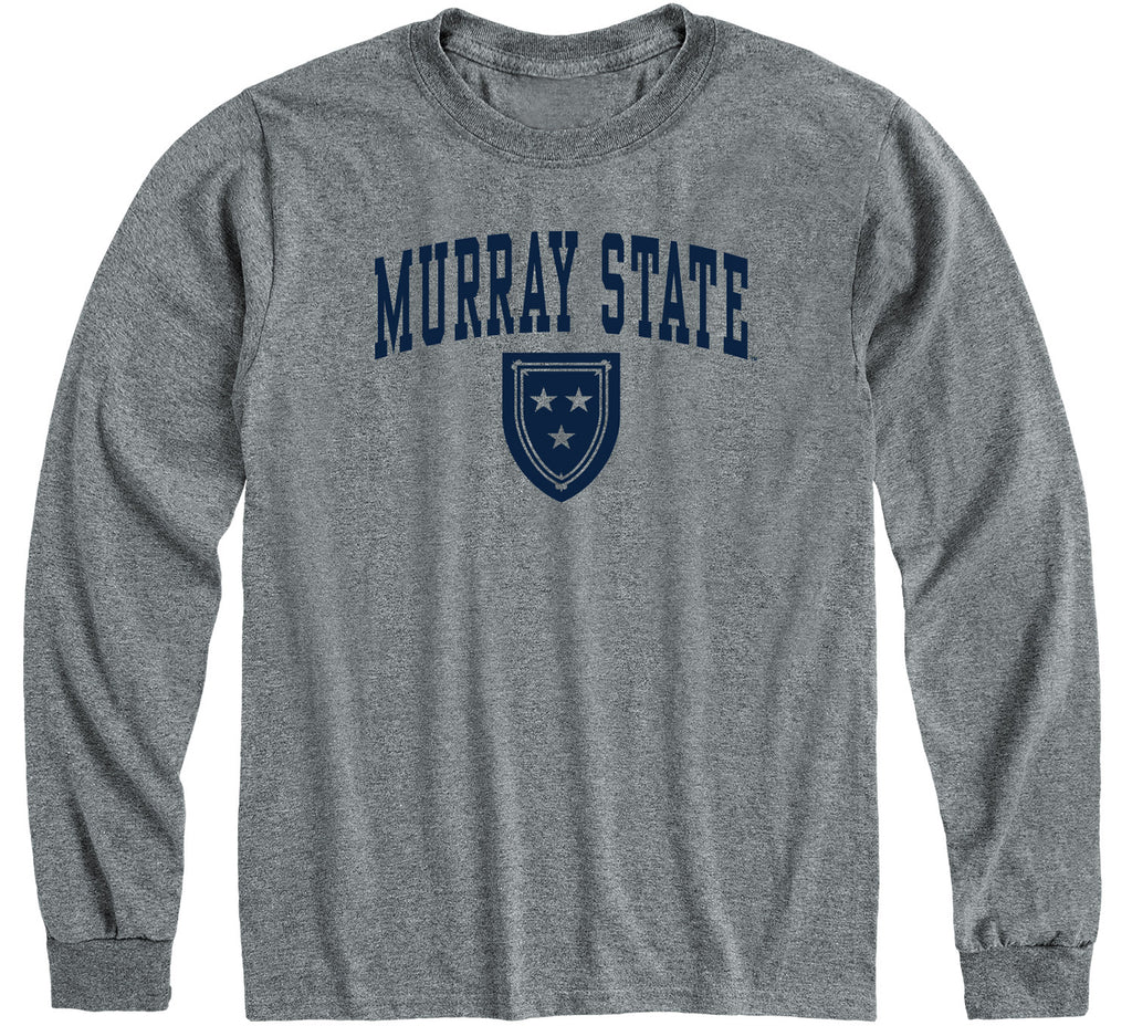 Murray State University Heritage Long Sleeve T-Shirt (Charcoal Grey)