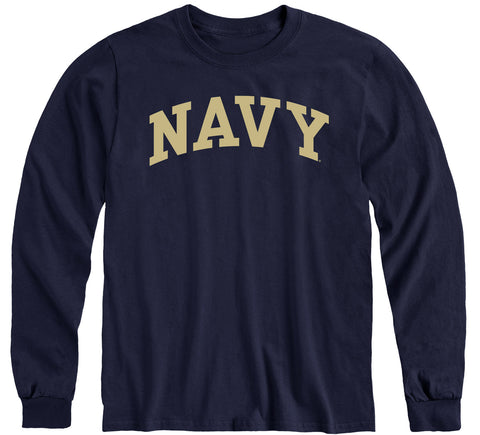 Navy Classic Long Sleeve T-Shirt (Navy)
