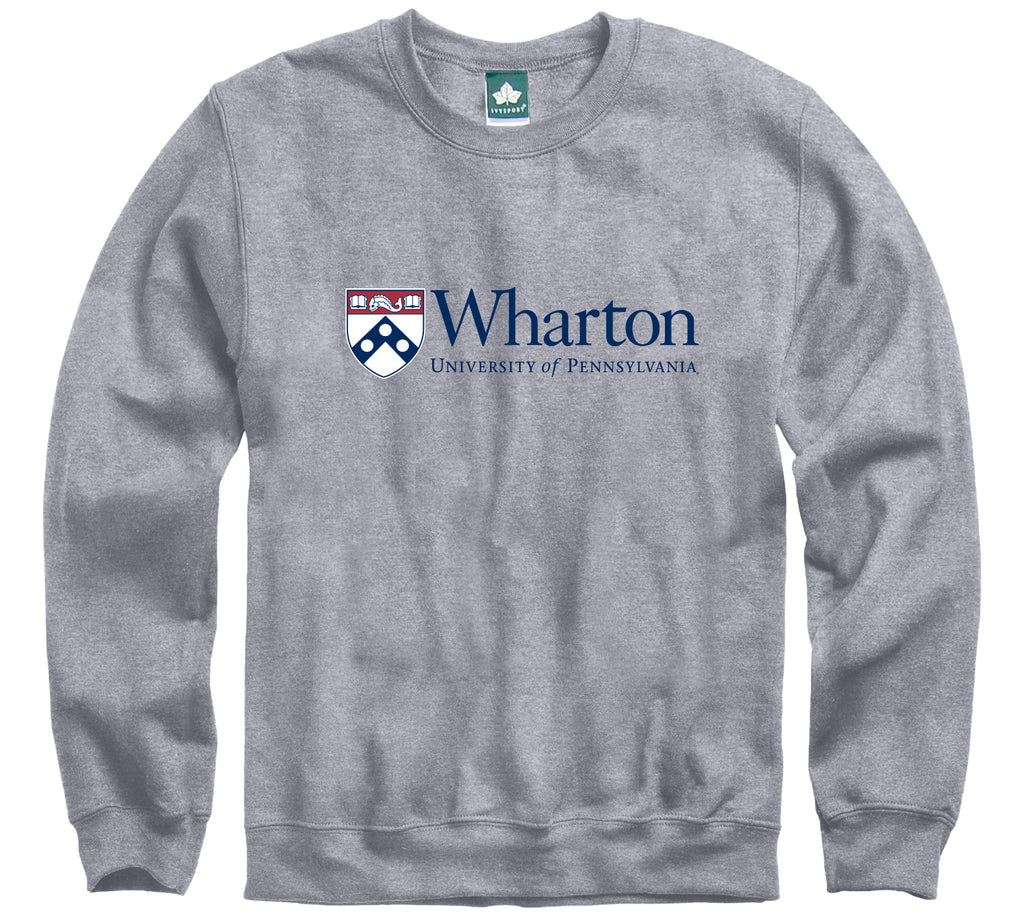 Penn Wharton Sweatshirt (Heather Grey)