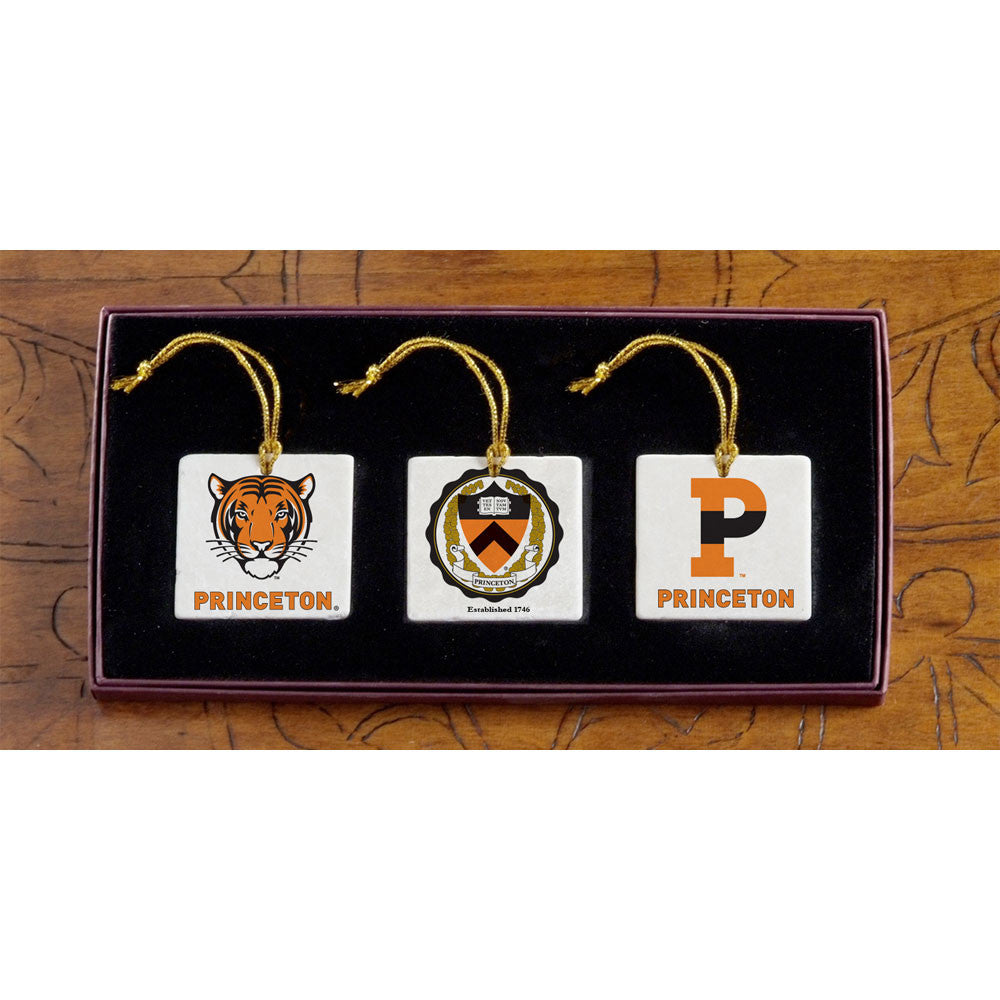 Princeton - Christmas 3 Ornament Set