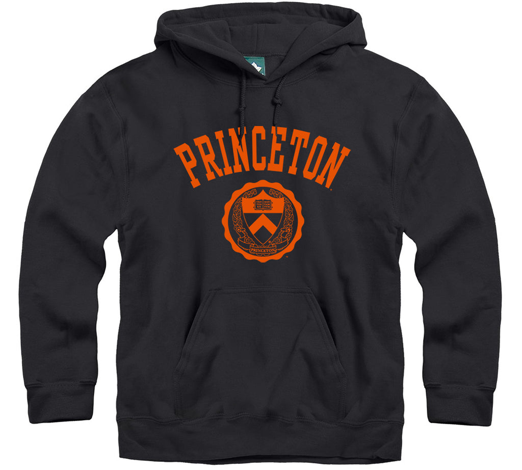 Princeton Heritage Hooded Sweatshirt (Black)