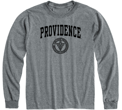 Providence College Heritage Long Sleeve T-Shirt (Charcoal Grey)