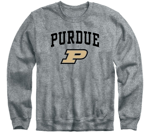 Purdue University Heritage Sweatshirt (Charcoal Grey)