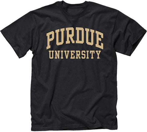 Purdue University Classic T-Shirt (Black)