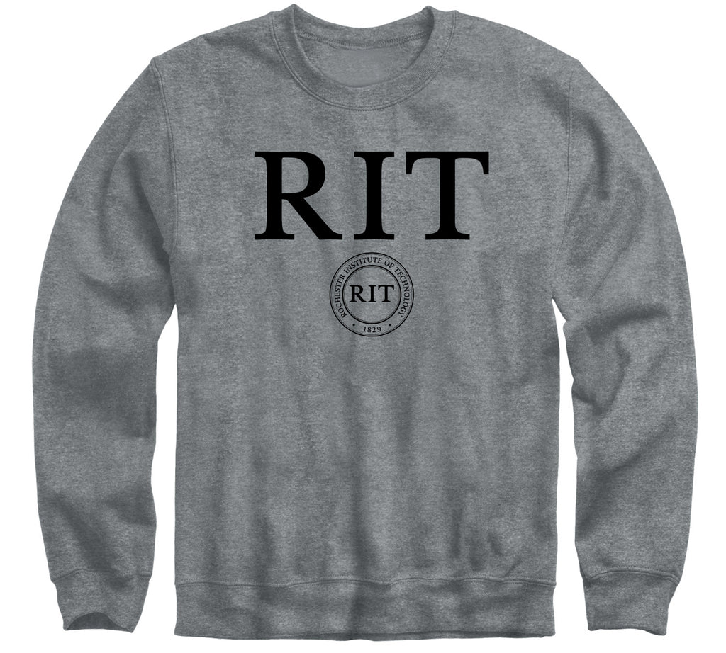 Rochester Institute of Technology Heritage Sweatshirt (Charcoal Grey)