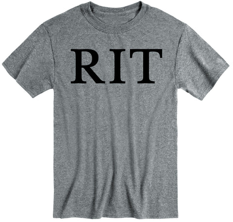 Rochester Institute of Technology Classic T-Shirt (Charcoal Grey)