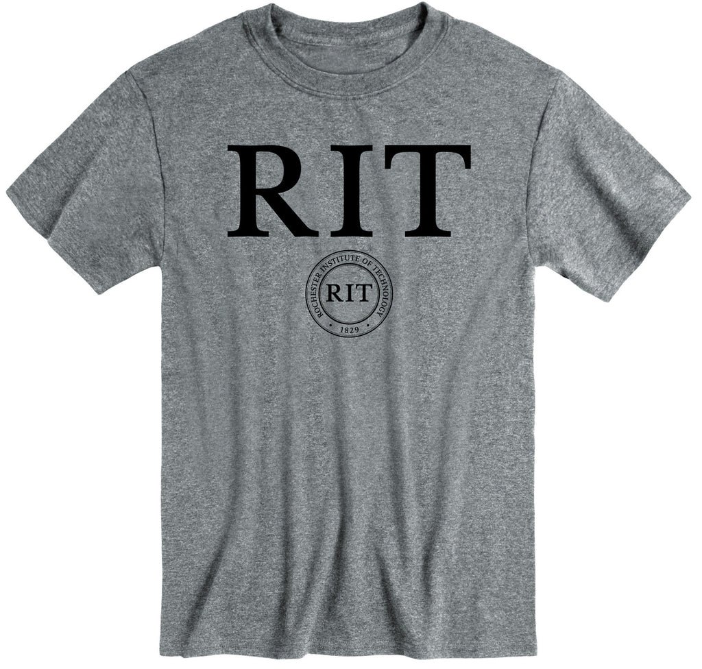 Rochester Institute of Technology Heritage T-Shirt (Charcoal Grey)