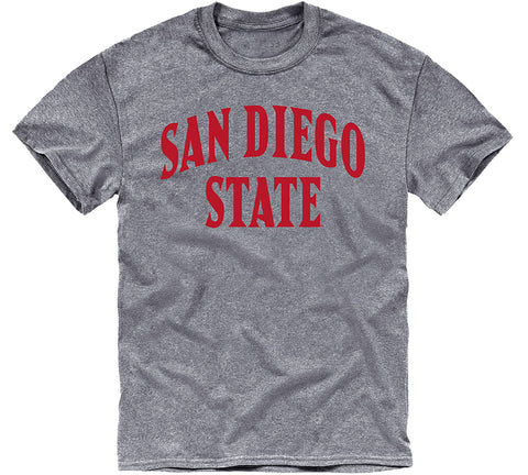 San Diego State University Classic T-Shirt (Charcoal Grey)