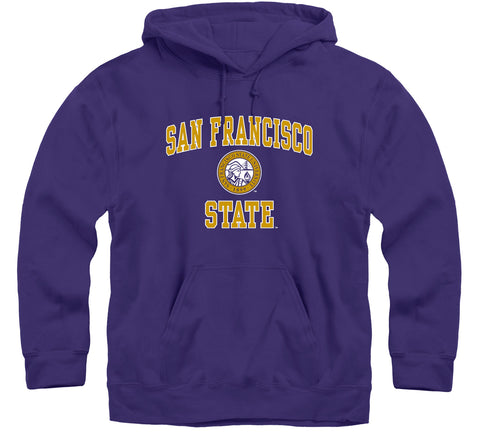 San Francisco State University Heritage Hooded Sweatshirt (Purple)