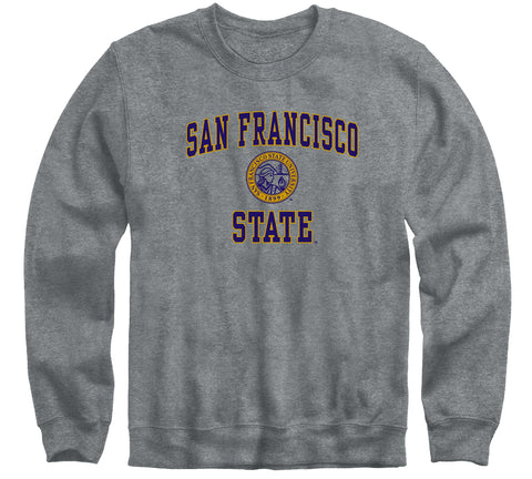 San Francisco State University Heritage Sweatshirt (Charcoal Grey)