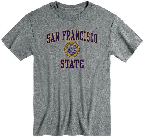 San Francisco State University Heritage T-Shirt (Charcoal Grey)