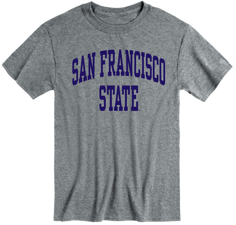 San Francisco State University Classic T-Shirt (Charcoal Grey)