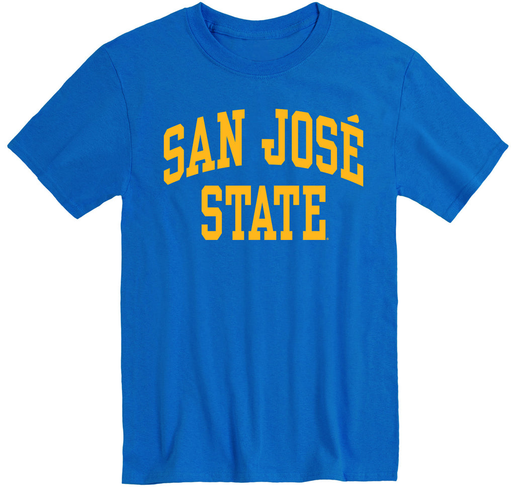 San Jose State University Classic T-Shirt (Royal Blue)