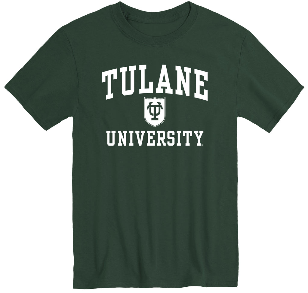 Tulane University Heritage T-Shirt (Hunter Green)