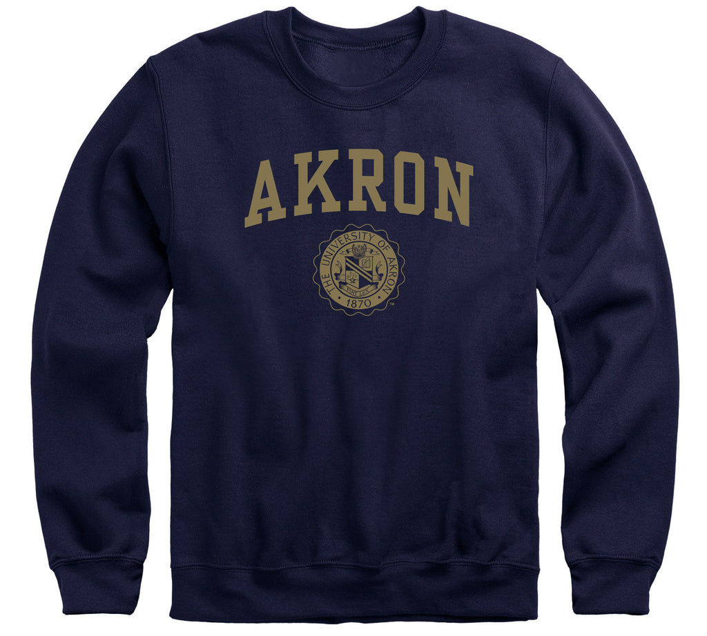 University of Akron Heritage Sweatshirt (Navy)